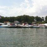 Boats at Captain Ron's