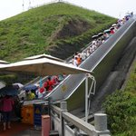 Escalator at Three Gorges Dam Project