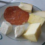 Desayuno: Quesos de Açores