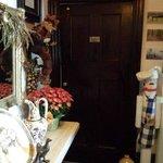 Door to main-floor 2-bedroom suite
