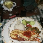Cuban restaurant ...lobster