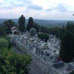 vista do cemiterio