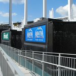 Right field fountains