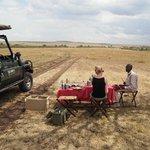 Lunsj i Masai Mara