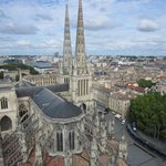 Cathedrale St Andre as viewed from the tower
