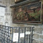 Painting in the St. Vitus Cathedral