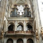 Organ in the St. Vitus Cathedral