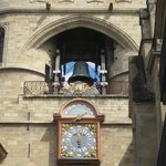 The bell and the clock