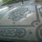 Piso de uma calçada em Lisboa, lindooooooooo!!!!
