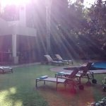Área externa - piscina