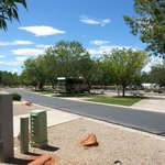 RV sites-mid week before the weekend rush