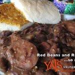 Red Beans & Rice with Smoked Pork Sausage