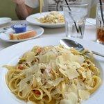 Fettuccini + Lump Crab