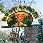 The Moosewood sign taken from the inside
