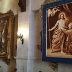 Beautiful artwork everywhere - this is the chapel