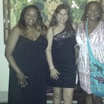 Ladies dining at Frida's