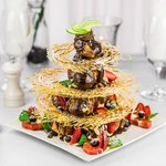 Our famous croquembouche.