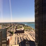 The view from the 37th floor.