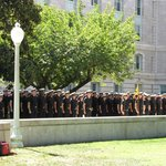 If possible, don't miss the noon formation outside Bancroft Hall