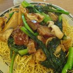 Noodle Dish ~ Their House Specialty with Crispy Noodles