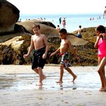 Great beach for kids