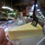Philly cheesecake da provare al Reading Terminal Market. Costo: 4 $