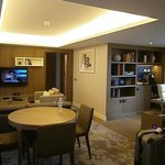 lounge and dinning area in my suite