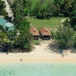 Muri Shore Aerial Shot