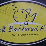 a sign of great fish n chips