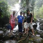 waterfall at 400 meters