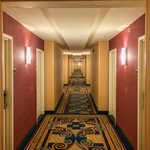 One of the very long walks to the room