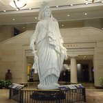 Replica of Statue of Freedom at the Visitor center.