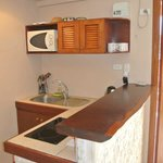 Seaview appartment - Kitchenette