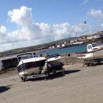 Kilkee slip and boathouse