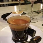 Excellent coffee at L'Orient Cafe