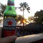 Sunset with Bintang