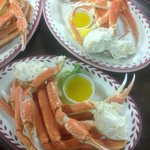 Snow Crab leg special Tuesday's 3-9