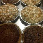 Deserts baked fresh Gotta Try one.