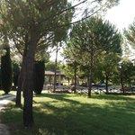 panorama del parco d'ingresso