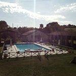 panorama della piscina e delle aree svago