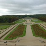 Les jardins depuis le dôme du chateau