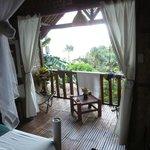 Banana deluxe house balcony