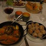 Моллюски и картошка по-канарски