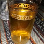 Moroccan tea after dinner