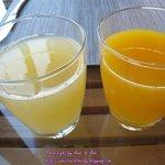 น้ำส้ม และ น้ำสัปปะรด