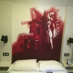 chambre moulin rouge