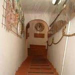 Entrata al museo di Antonio