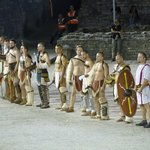Spectacula Antiqua - I gladiatori si presentano all'Imperatore