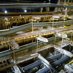 The structure of the Mary Rose being dried out