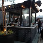 bar at the roof top